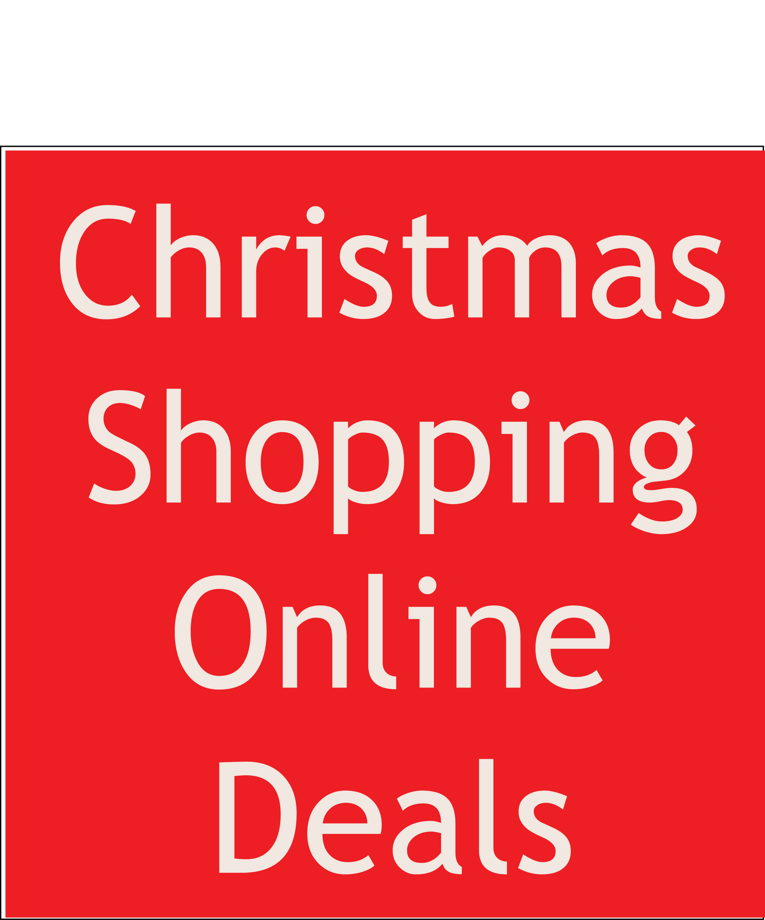 Christmas Shopping Online: 2 Simplest Discounts