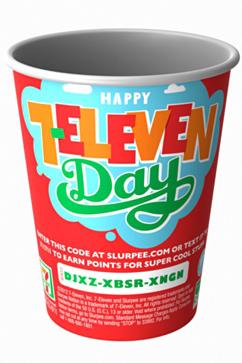 7-Eleven Freebie Week