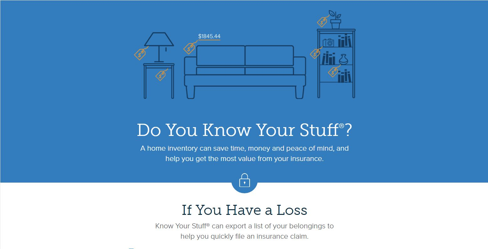Know Your Stuff Mobile App