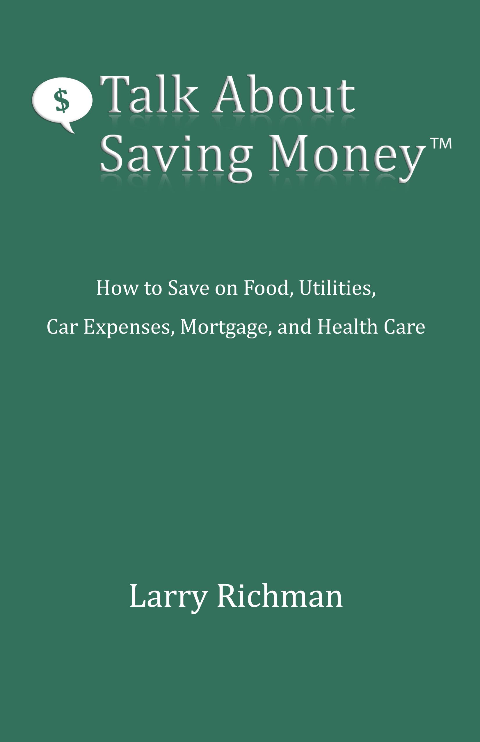 "Black Friday Deal: Book ""Talk About Saving Money"""
