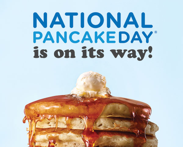 National Pancake Day, February 27, 2018